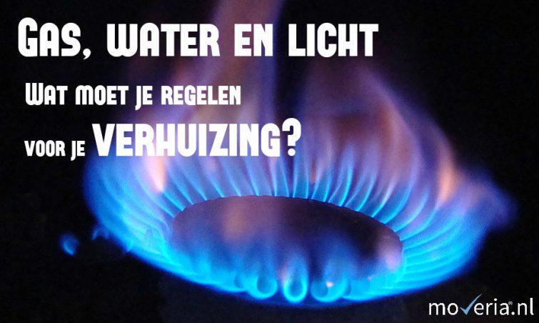 gas, water en licht regelen