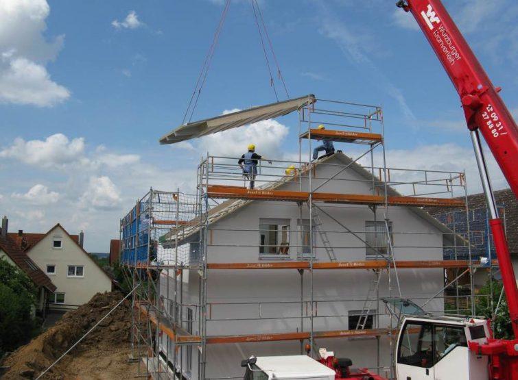 verhuizen naar een nieuwbouwhuis